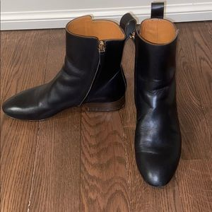 Chloe black leather Ankle boots size 37